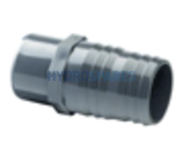 1-1/2 Inch PVC Hose Adaptor - Barbed