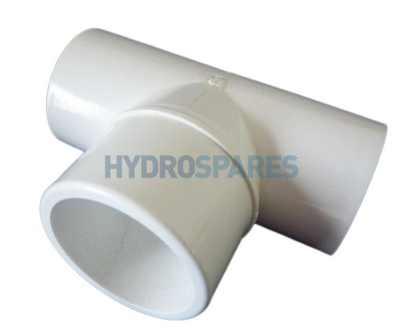HydroAir Discharge Tee - PVC
