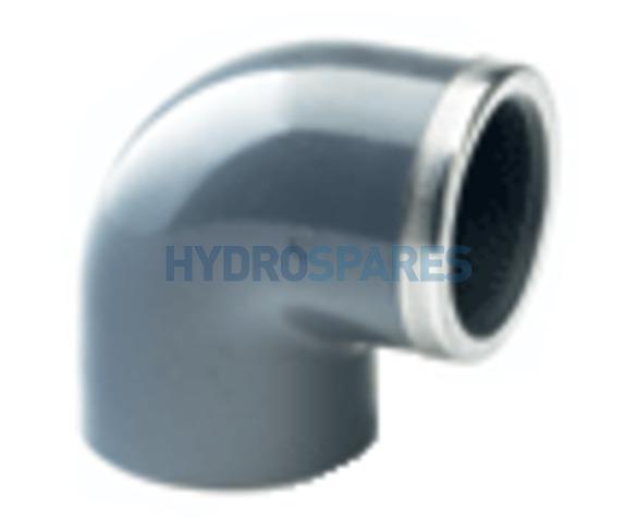 PVC Elbow 90° Equal - Threaded