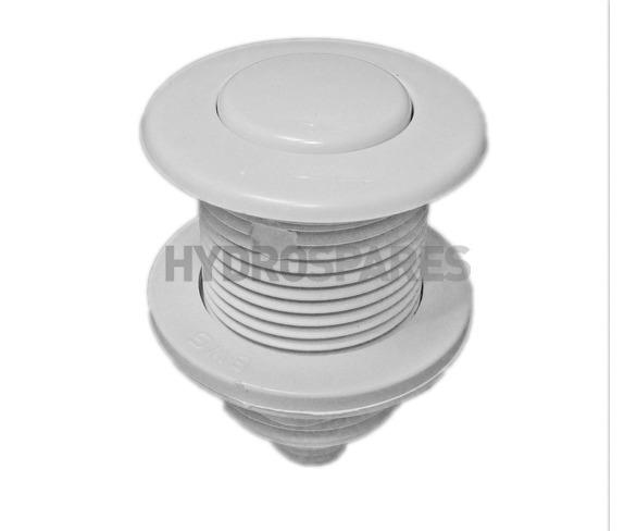 HydroAir Air Button - White 45mm Ø