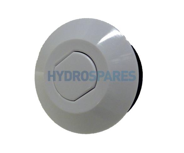 HydroAir Air Button - White 64mm Ø
