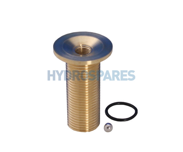 "Air jet brass 1/2""Ø - Large Flange"