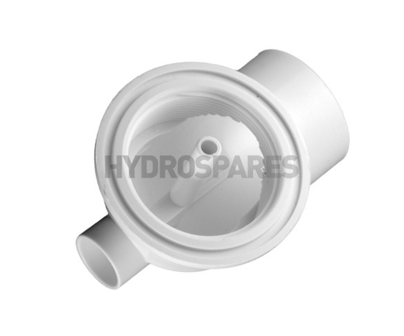 Balboa Suction Nut Elbow - 90° + Safety Relief Port