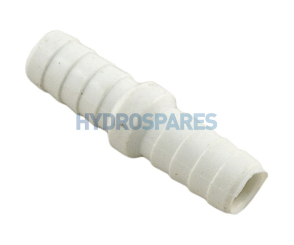"3/8"" Inch Ribbed Barbed - Coupler"