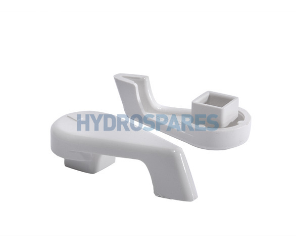 "Waterway 1.0"" Control Valve Handle - Notched Type"