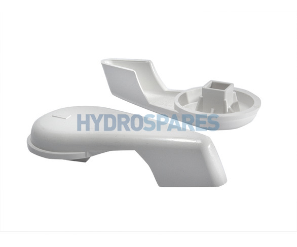 "Waterway 2.0"" Control Valve Handle - Notched Type"