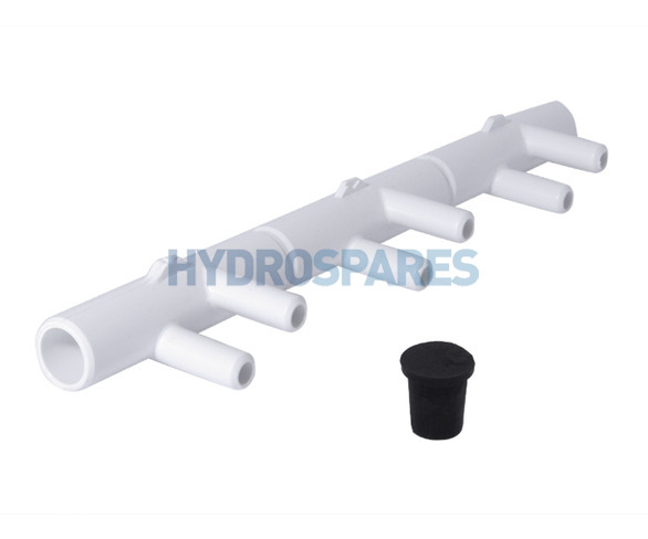 Waterway Water/Air Manifold 6 Barb