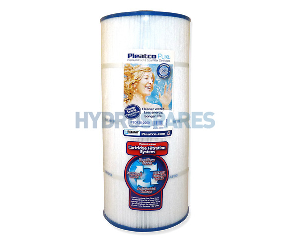 Pleatco Hot Tub Filter Cartridge - PSD125-2000