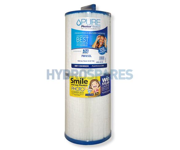 Pleatco Hot Tub Filter Cartridge - PWW50L