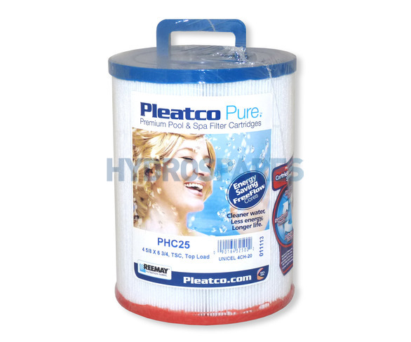 Pleatco Hot Tub Filter Cartridge - PHC25P4