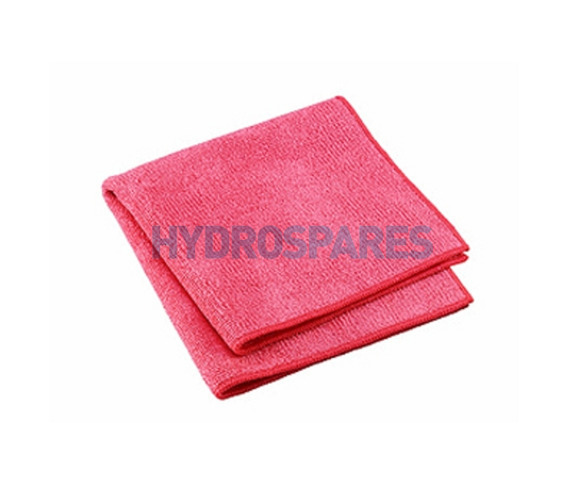 Pure-Spa Microfibre Cleaning cloth - Pink