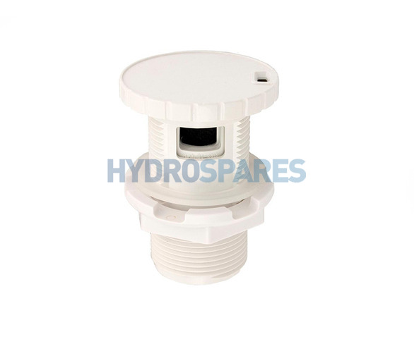 HydroAir Air Intake Control - White Slimline - Min-Max Indicator