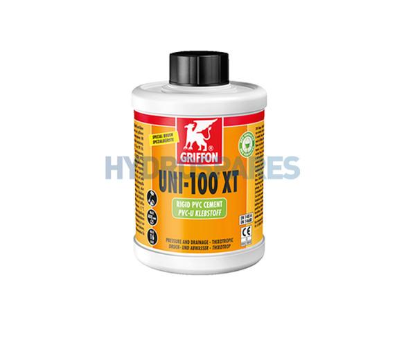 Griffon UNI 100XT Solvent Cement Glue - PVC Compatiable
