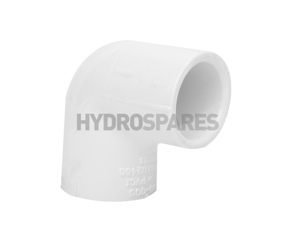 1/2 Inch PVC Elbow 90° - Equal