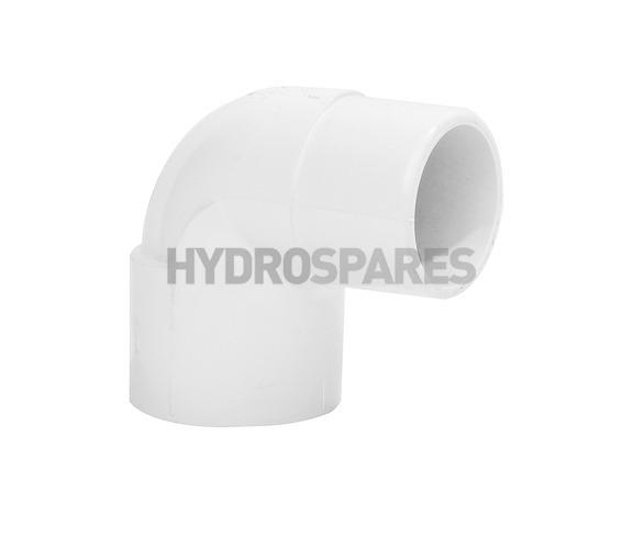 1-1/2 Inch PVC Elbow 90° - Street