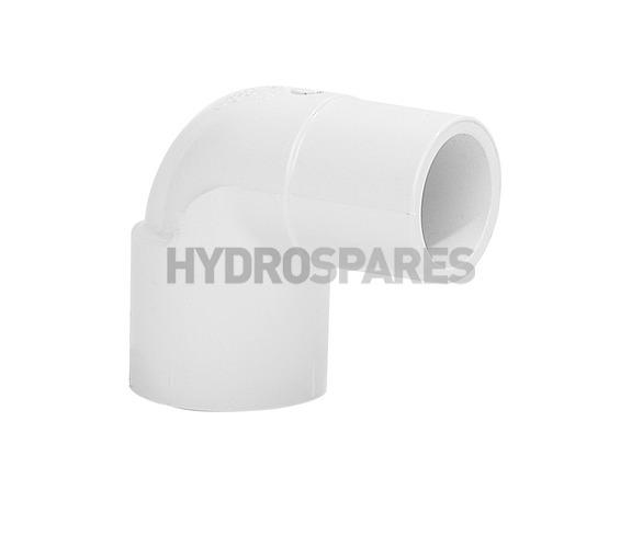 1/2 Inch PVC Elbow 90° - Street