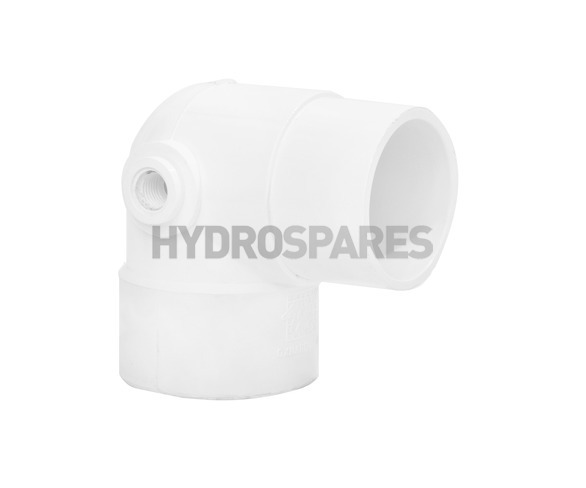 2-00 inch PVC Elbow 90° - Street + Relief Port Left