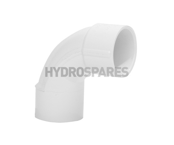 1-1/2 Inch PVC Swept Elbow 90° - Equal