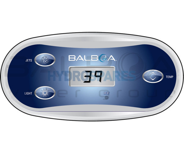 Balboa Topside Control Panel VL406T- 50217