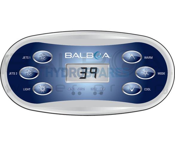 Balboa Topside Control Panel VL600S - 54548