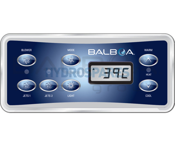 Balboa Topside Control Panel VL701S - 53189