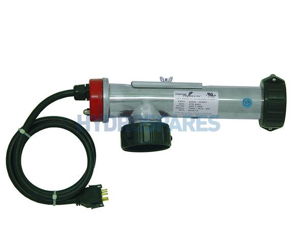 """HydroQuip Spa Heater """"L"""" shape"""