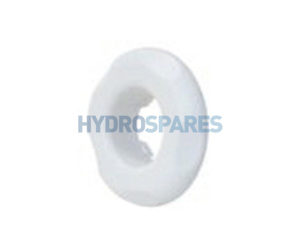 Polyjet Escutcheon - Large Face White