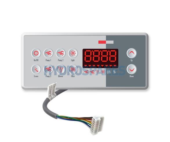 Gecko Topside Control Panel TSC-8-10K-GE1