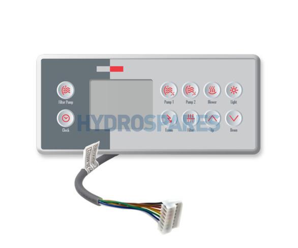 Gecko Topside Control Panel - TSC-4-10K-GE1