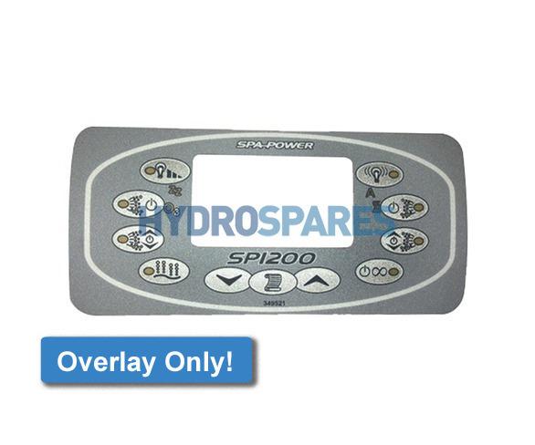 Spa-Quip Overlay - SP1200