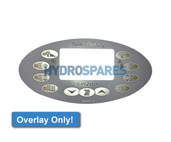 Spa-Quip Overlay - SP1200 - Oval