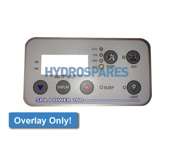 Spa-Quip Overlay - SP750