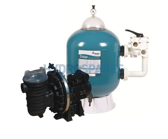 Triton Side Mount Filter & Sta-Rite 0.5HP Pump