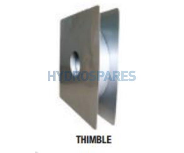 Z-Vent Thimble 4 inch