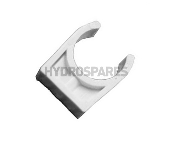 """2.00"""" Inch ABS Pipe Clip"""