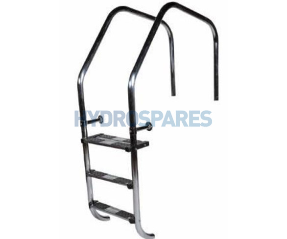 """Stainless Steel Arch Overflow Ladders - 1.7"""" / 43mm"""