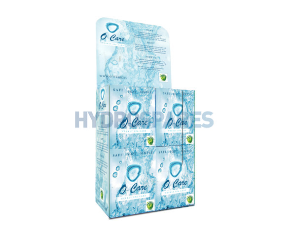 O-Care Retail Display Box (8 x Units) + 1x Free with 5 x Posters & 30 x Leaflets