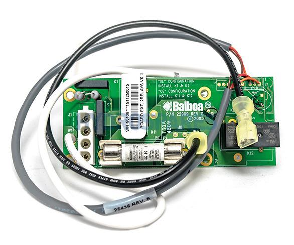 Balboa Expander PCB - CE 30A