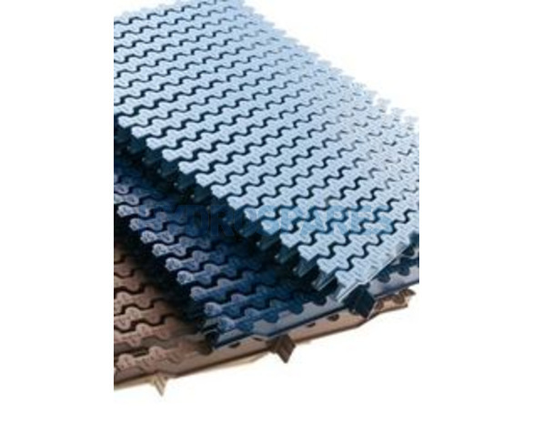 Astral - Overflow Grating - Modular for Curves (sold in packs of 51 units approx 1 linear meter)
