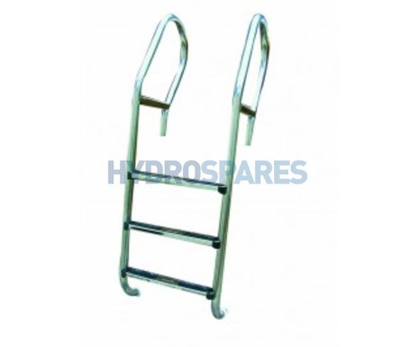 """Certikin 1.7"""" Club Bar Ladder - 3 Tread"""