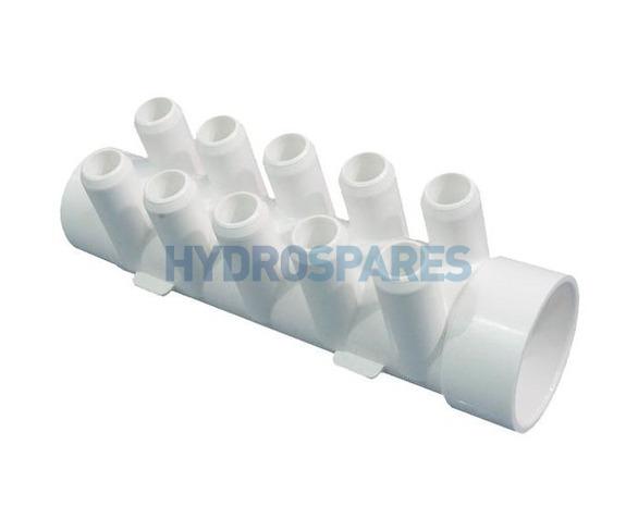 Waterway PVC Smart Plumb Manifold - Street 10 Barb