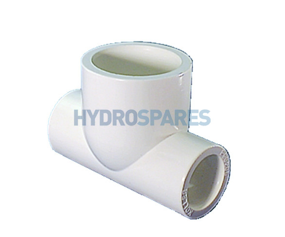 Tee - Reducing PVC Plain