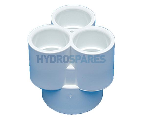 Distributer 3 Fold PVC Plain