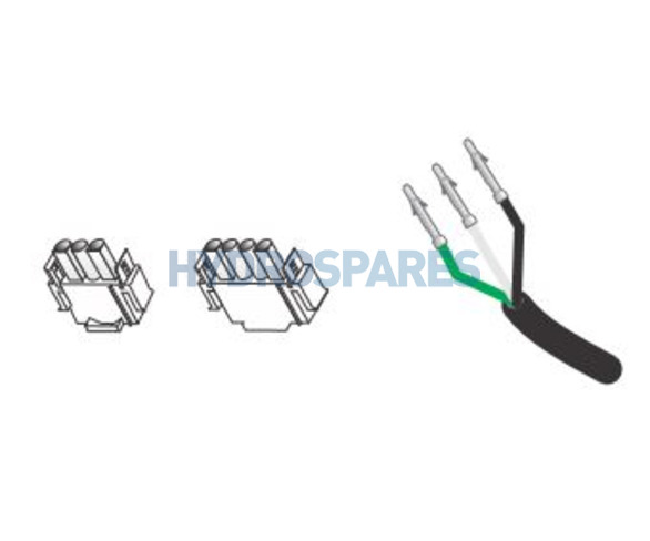 """HydroQuip - AMP Cord 96"""" (14/4)"""