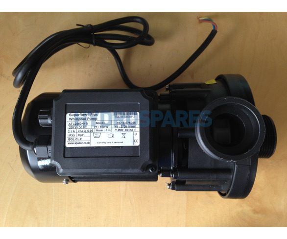 Whirlpool Bath Pump Superflow Plus 0.67HP *** B STOCK ***