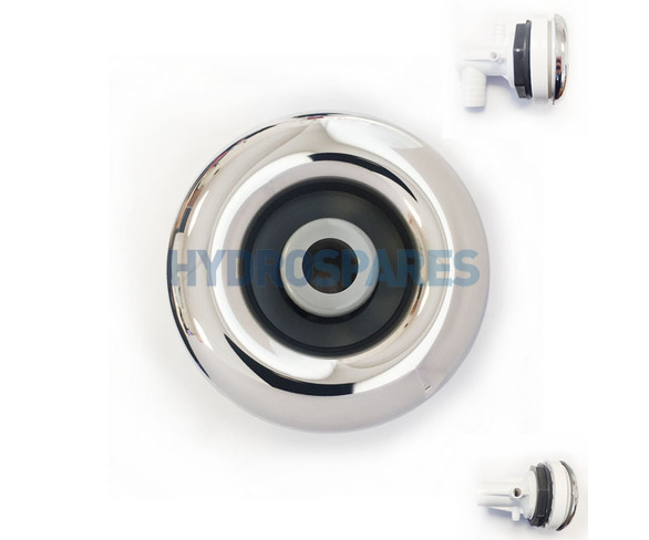 "Laguna Jet - 3.0"" - Stainless Steel/Grey - Assembly"