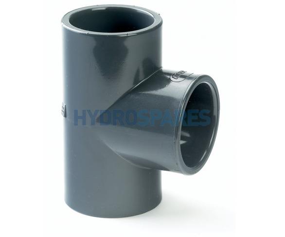 90mm PVC Tee - Equal