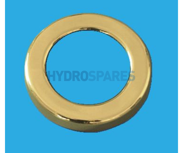 Koller Halogen Spa Light Bezel Brass