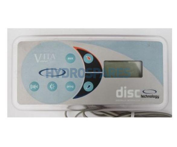 Vita Spas Topside Control Panel