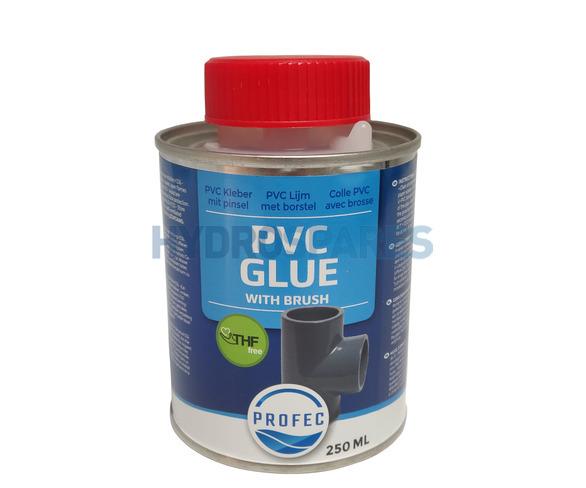 PROFEC THF Free PVC Glue w/ Brush